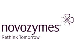 novozymes logo, rigtig str