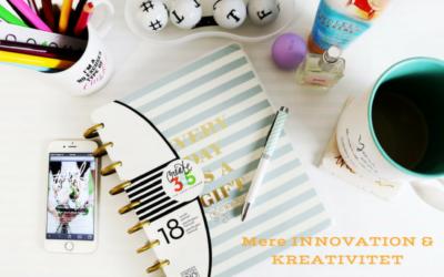 Innovation og kreativitet