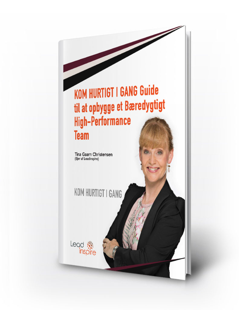 Start guide til bæredygtigt high-performance team