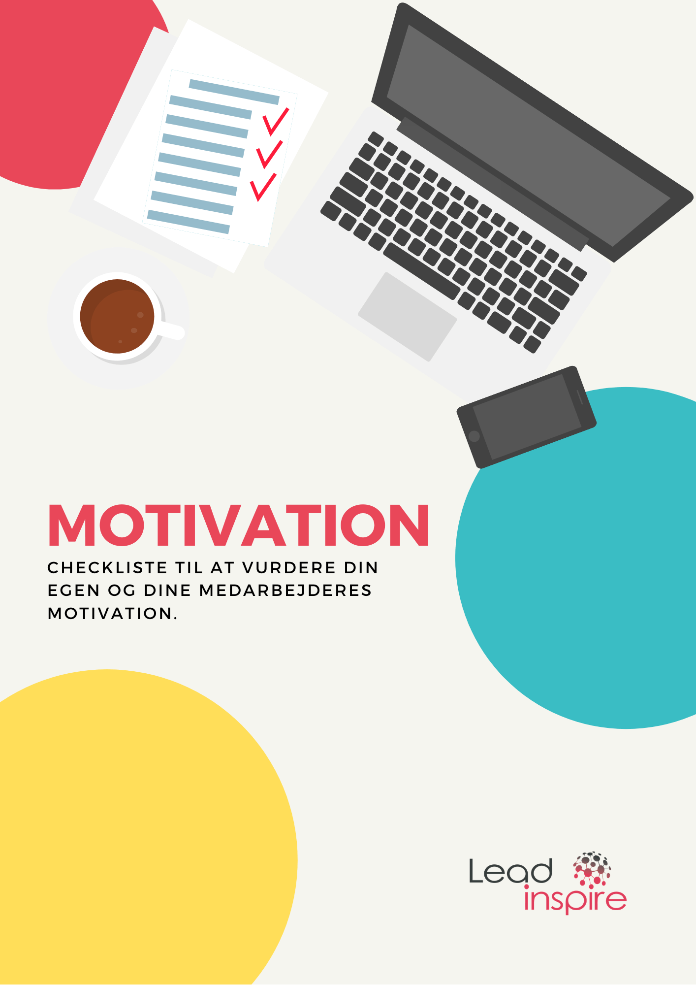 Checkliste til motivation forside