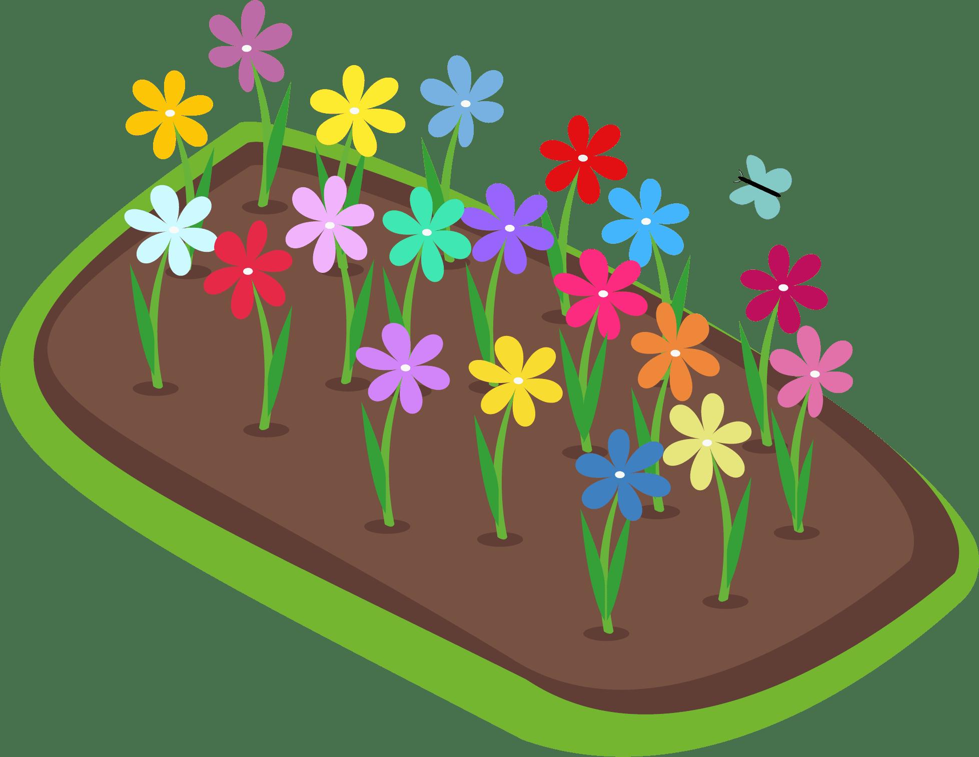 Et billde af vektor blomster
